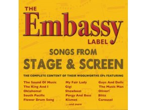 VARIOUS ARTISTS - The Embassy Label - Songs From Stage & Screen (CD)