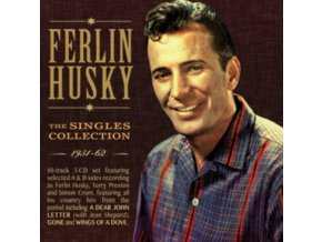 FERLIN HUSKY - The Singles Collection 1951-62 (CD)