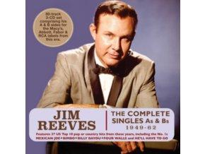 JIM REEVES - The Complete Singles As & Bs 1949-62 (CD)