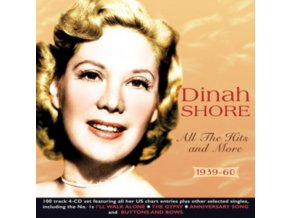 DINAH SHORE - All The Hits And More 1939-60 (CD)