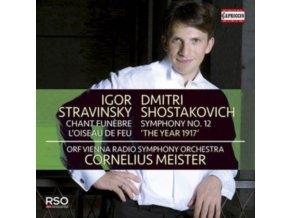 ORF VIENNA RSO / MEISTER - Igor Stravinsky: Chant Funebre / LOiseau De Feu / Dmitri Shostakovich: Symphony No. 12 the Year 1917 (CD)