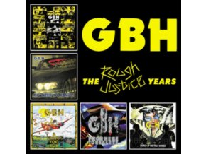 GBH - The Rough Justice Years (CD)