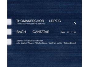 THOMANERCHOR LEIPZIG - Johann Sebastian Bach: Cantatas Bwv 33. 17. 99 (CD)