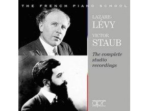 VICTOR STAUB & LAZARE-LEVY - The Complete Studio Recordings (CD)