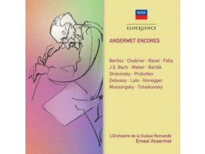 LORCHESTRE DE LA SUISSE ROMANDE / ANSERMET - Ansermet Encores (CD)