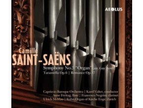 CAPRICCIO BAROQUE ORCHESTRA / KAREN VALTER - Saint-Saens: Symphony No. 3 Organ (Arr. Guy Bovet) (SACD)