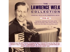 LAWRENCE WELK & HIS CHAMPAGNE MUSIC - The Lawrence Welk Singles Collection 1938-62 (CD)