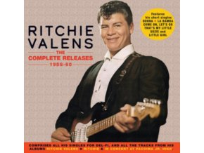 RITCHIE VALENS - The Complete Releases 1958-60 (CD)