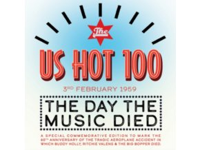 VARIOUS ARTISTS - The US Hot 100 3rd Feb. 1959 - The Day The Music Died (CD)