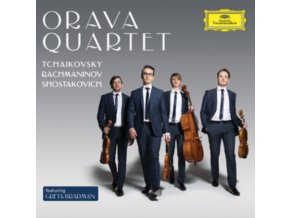 ORAVA QUARTET - Tchaikovsky. Rachmaninov. Shostakovich: String Quartets (CD)