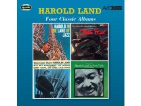 HAROLD LAND - Four Classic Albums (CD)