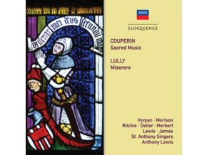 JENNIFER VYVYAN / WILLIAM HERBERT / GEORGE JAMES / LEWIS - Couperin: Sacred Music / Lully: Miserere (CD)