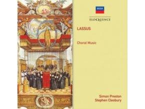 CHOIRS OF KINGS COLLEGE CAMBRIDGE & CHRIST CHURCH. OXFORD - Lassus Choral Music (CD)