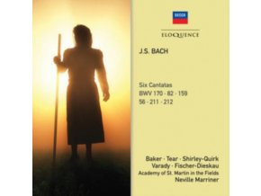 ACADEMY OF ST MARTIN IN THE FIELDS / MARRINER - J.S. Bach: Six Cantatas (CD)