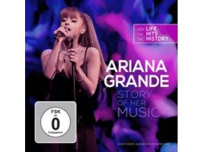 ARIANA GRANDE - Story Of Her Music (CD + DVD)