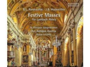 ST. FLORIANER SANGERKNABEN / ARS ANTIQUA AUSTRIA / GUNAR LETZBOR - Festive Masses For Lambach Abbey (CD)
