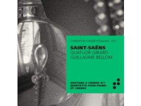 QUATUOR GIRARD / GUILLAUME BELLOM - Saint-Saens: String Quartet No. 1. Piano Quartet (CD)