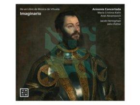 ARMONIA CONCERTADA / JACKOB HERINGMAN / JOHN POTTER - Imaginario - De Un Libro De Musica De Vihuela (CD)