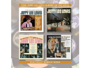 JERRY LEE LEWIS - The Golden Hits Of Jerry Lee Lewis / Live At The Star Club / The Greatest Live Show On Earth / By Request (CD)