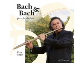 REZAR NAJFAR - Bach & Bach: Pieces For Alto Flute (CD)