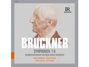 VARIOUS ARTISTS - Anton Bruckner: Symphonies Nos. 1-9 (CD Box Set)