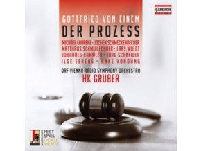 VARIOUS ARTISTS - Gottfried Von Einem: Der Prozess (CD)