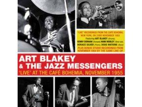 ART BLAKEY & THE JAZZ MESSENGERS - Live At The Cafe Bohemia November 1955 (CD)