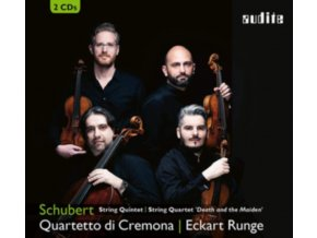 QUARTETTO DI CREMONA / ECKART RUNGE - Schubert: String Quintet / String Quartet Death And The Maiden (CD)