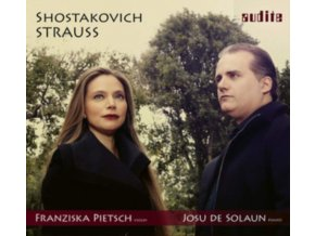 FRANZISKA PIETSCH / JOSU DE SOLAUN - Shostakovich / Strauss: Sonatas For Violin & Piano (CD)