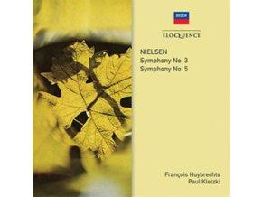 PAUL KLETZKI / FRANCOIS HUYBRECHTS / LSO - Nielsen: Symphonies Nos. 3 & 5 (CD)
