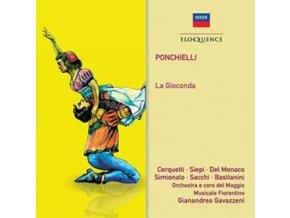 SOLOISTS / ORCHESTRA E CORO DEL MAGGIO MUSICALE FIORENTINO - Ponchielli: La Gioconda (CD)