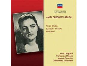 ORCHESTRA DEL MAGGIO MUSICALE FIORENTINO / GAVAZZENI - Anita Cerquetti Recital (CD)