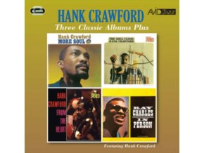 HANK CRAWFORD / PHIL GUILBEAU - Three Classic Albums Plus (CD)