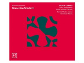 PIZZICAR GALANTE - Domenico Scarlatti: Mandolin Sonatas (CD)