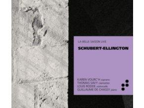 KAREN VOURCH / THOMAS SAVY / LOUIS RODDE / GUILLAUME DE CHASSY - Schubert / Ellington (CD)