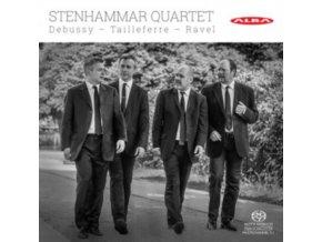 STENHAMMAR QUARTET - Claude Deubssy / Germaine Tailleferre / Maurice Ravel: Stenhammar Quartet (CD)