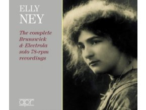 ELLY NEY - Elly Ney: The Complete Brunswick & Electrola Solo 78-Rpm Recordings (CD)