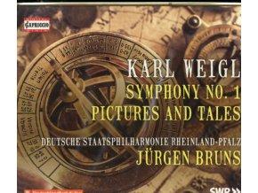DSP RHEINLAND-PFALZ / BRUNS - Karl Weigl: Symphony No. 1 / Pictures And Tales (CD)