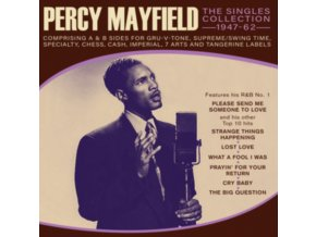 PERCY MAYFIELD - The Singles Collection 1947-62 (CD)