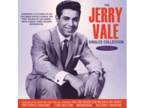JERRY VALE - The Jerry Vale Singles Collection 1953-62 (CD)