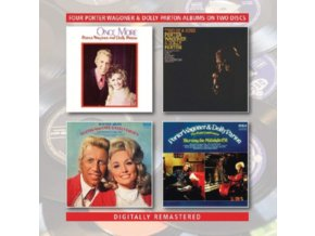 PORTER WAGONER & DOLLY PARTON - Once More / Two Of A Kind / Together Always / The Right Combination Burning The Midnight Oil (CD)