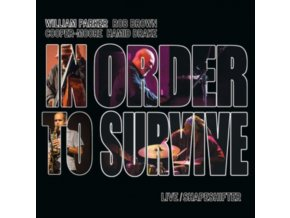 WILLIAM PARKER & IN ORDER TO SURVIVE - Live / Shapeshifter (CD)