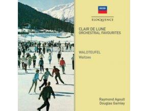 RAYMOND AGOULT / VARIOUS ORCHESTRAS - Clair De Lune / Waldteufel Waltzes (CD)