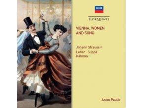 ANTON PAULIK / ORCHESTER DER WIENER VOLKSOPER - Vienna. Women And Song (CD)