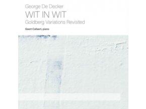 GEERT CALLAERTS - Decker: Wit In Wit (CD)