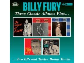 BILLY FURY - Three Classic Albums Plus (CD)
