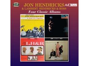 JON HENDRICKS - Four Classic Albums (CD)