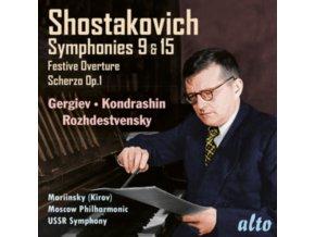 VALERY GERGIEV / LSO / MELODIYA - Shostakovich: Symphonies No.9 & No.15 (CD)