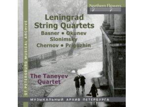 TANEYEV STRING QUARTET - Leningrad String Quartets (CD)