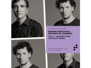 PIERRE FOUCHENNERET / ERIC LE SAGE - Integrale Brahms: Violin Sonatas (CD)